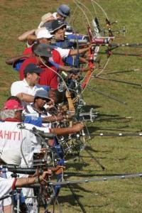 SPG2007 Archers line up