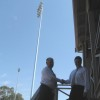 New light towers at Chirnside Park
