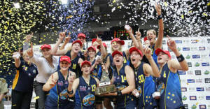 We did it! The Canberra Capitals are WNBL Champions!