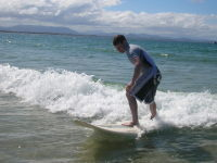Surfing - Bryon Bay