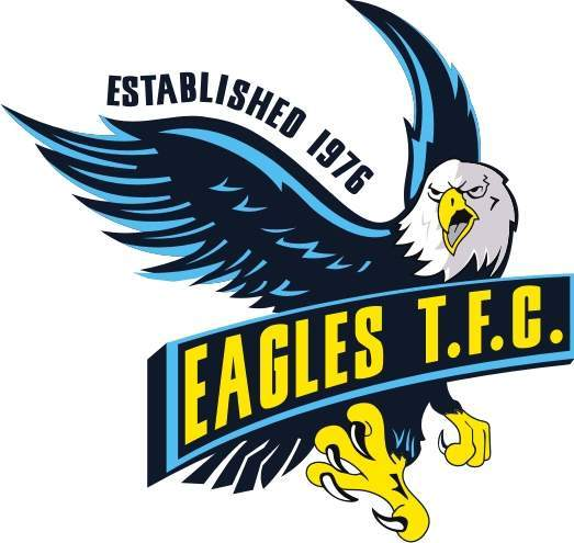 The design of this new badge Eagle Football Logo