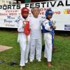 Taekwondo shows fighting gear