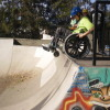 Tiff at the Skatepark September 2010