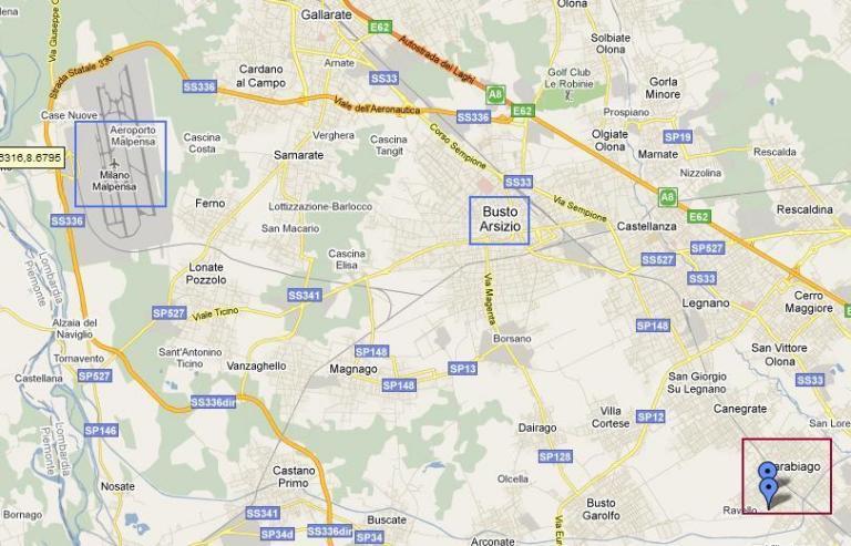 Milano Malpensa Airport To Parabiago And The Stadium Australian