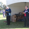 Mr jim Forest, President FNSW, with Cr Butterworth