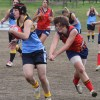 Heather Anderson evades a tackle