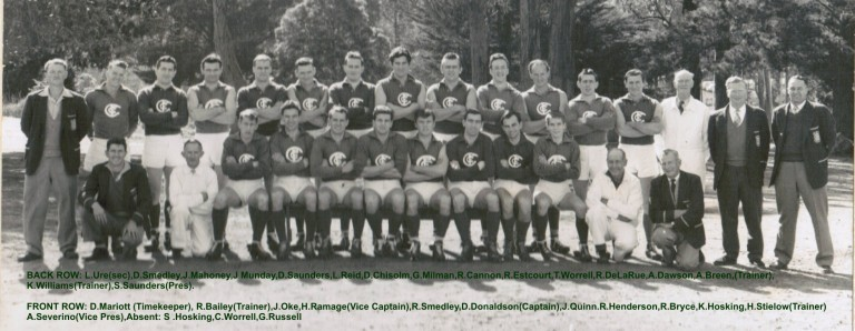 1962 Premiership Team First 18