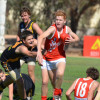 2013 - Round 3 Sea Lake Nandaly Tigers v Hopetoun (photo by Kathy Poulton)