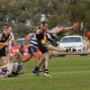 2013 - Round 7 Woomelang Lascelles v Sea Lake Nandaly Tigers (photo by Carol Elliott)